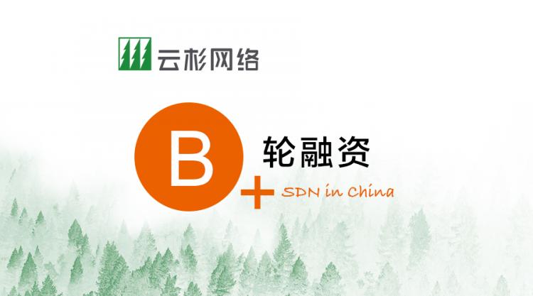 SDN十年磨一剑,云杉网络完成B+轮融资