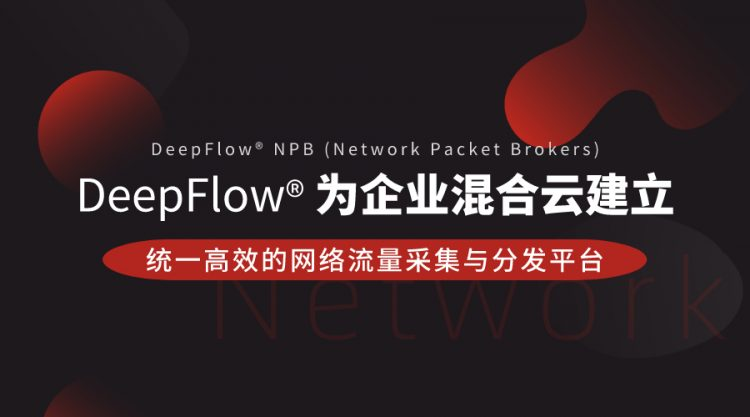 DeepFlow®为企业混合云建立统一高效的网络流量采集与分发平台